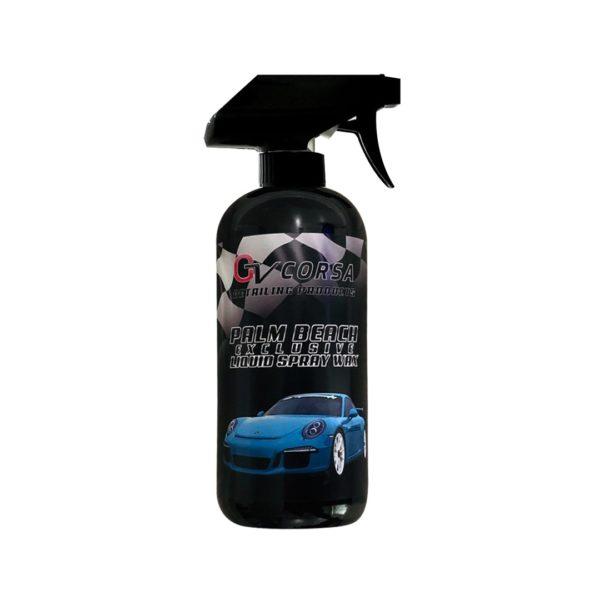gv automotive products liquid spray wax