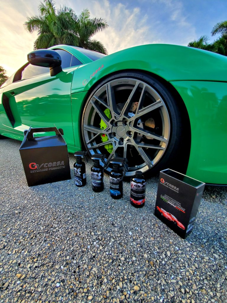 gv car detailing products