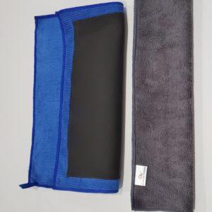 clay towel and microfiber cloth