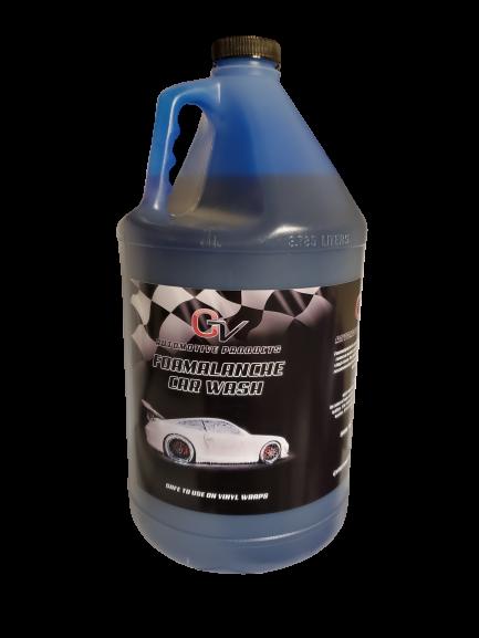 foamalanche car wash gallon