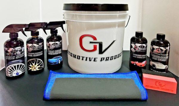 gv automotive products car detailing bundle